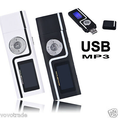 Portable USB MP3 Music Player LCD Screen Support 16GB TF Card Reader repeat