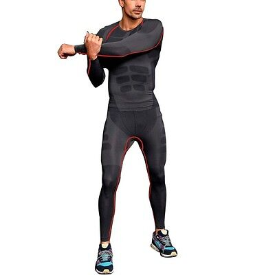 Men Sports Apparel Skin Tights Compression Base Under Layer Long Pants M L XL