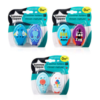 Tommee Tippee 433363 Soother Holder New Designs