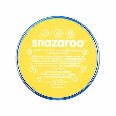 Snazaroo Face and Body Paint Sparkle Yellow 18ml