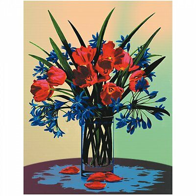 Royal & Langnickel Floral Still Life Painting By Number Artist Canvas Series