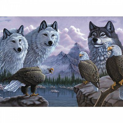 Royal & Langnickel Wolves And Eagles - Large Paint By Numbers