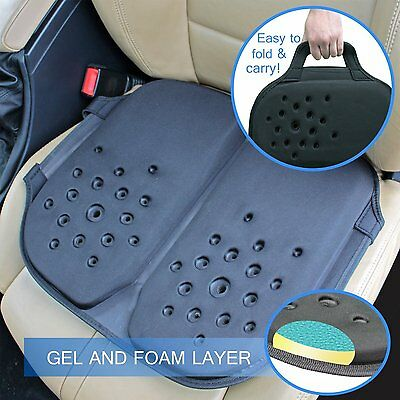 Ergonomic Portable Travel Gel Seat Orthopedic Cushion - Contour Chair Cushion
