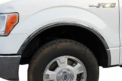 ICI FOR-076 Polished Stainless Steel Fender Trim