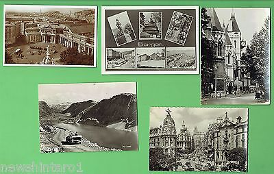 #d272. #6.  Five  Automobile  Related Theme   Postcards