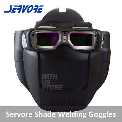 Servore Arc-513 Auto Shade Welding Goggles with Protective Face Shield Free Ship