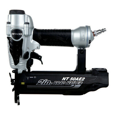 Hitachi 18-Gauge 2 in. Finish Brad Nailer Kit NT50AE2 Reconditioned
