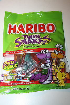 HARIBO TWIN SNAKES Gummi Candy 142g bag