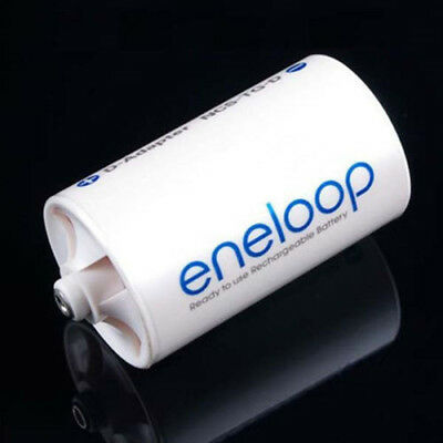 Sanyo Eneloop Battery Adaptor Converter AA R6 to D R20 D-Size