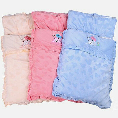 Newborn Baby Infant Sleeping Bag Swaddle Blanket Soft Warm Sleep Sack Novelty