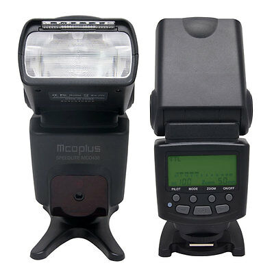 Mcoplus MCO-430 I-TTL Auto-Focus Dedicated Flash Speedlite for DSLR Camera Nikon