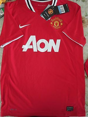 BNWT MANCHESTER UNITED 2011-12 Home Football Soccer Jersey Men's Sizes - SALE!!