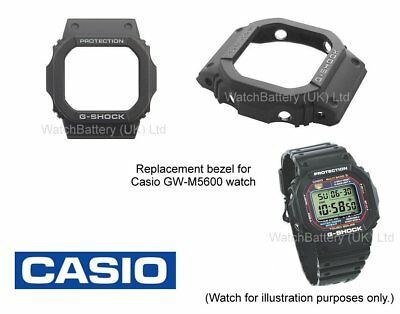 Genuine Casio Replacement Bezel for Casio GW-M5600, GW-M5610 & G-5600E watches