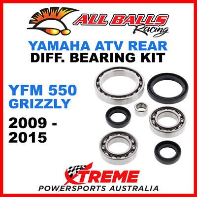 All Balls 25-2073 Yamaha YFM 550 Grizzly 09-15 Front Differential Bearing Kit