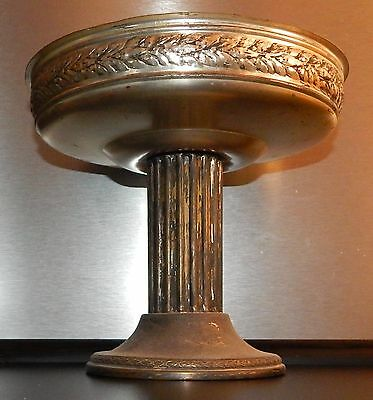 Antique Victorian Centerpiece Silver Plate pillar shaped before 1900 collection