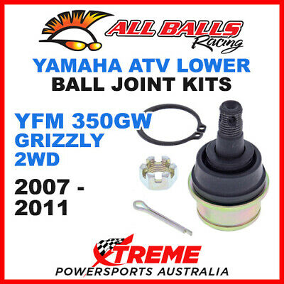 42-1009 Yamaha YFM350GW Grizzly 2WD 2007-2011 ATV Lower Ball Joint Kit