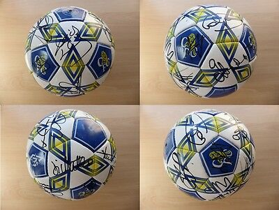 1998-99 Chelsea Official Football Signed by Squad ZOLA WISE DI MATTEO +++ (8896)