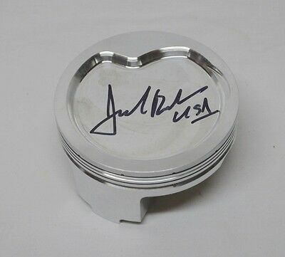 Jack Roush AUTOGRAPHED Race Used NASCAR Cup Piston. Version 2