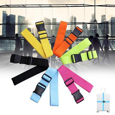 Suitcase Luggage Buckle Strap Travel Baggage Security Tie Down Utility Belt AD