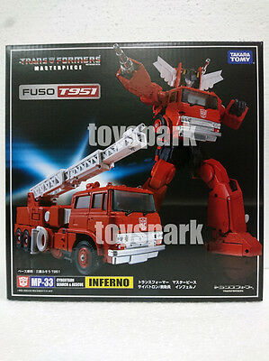 In Stock !! Takara Tomy Transformers Masterpiece MP-33 INFERNO G1 action figure