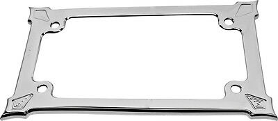 Prec. Billet License Plate Holder Darkside (Chrome)