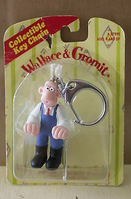 Wallace & Gromit 1989 Collectible Keychain In Package Rare
