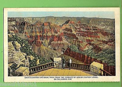 #h. Union  Pacific  Railroad   Postcard- Grand  Canyon