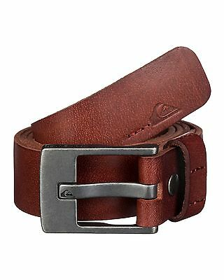 NEW QUIKSILVER™  Mens Section Leather Belt Accessories