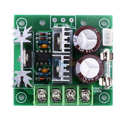 10A Adjustable DC Motor Speed Controller PWM Controller Over-voltage Protection
