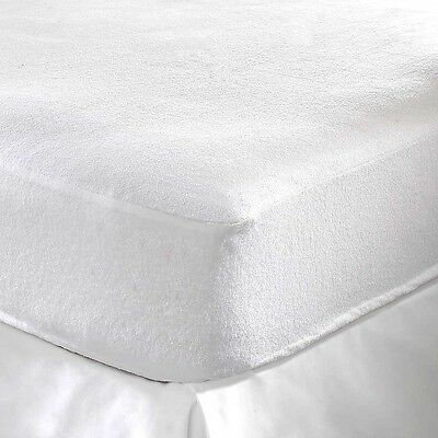 Waterproof Mattress Protector Towelling Cover Fitted Sheet Double Bed Crib Pad