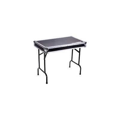 """Marathon Universal Fold Out DJ Table, Black (37x22x30"""" Opened Size) #TBHTABLE"""