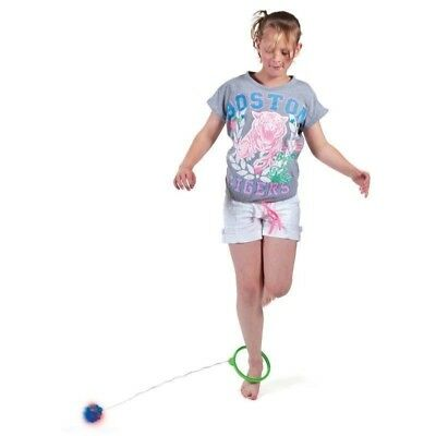 2 X Flashing Skip Ball childrens Skipping Rope Toy Game colors vary 17972