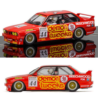 SCALEXTRIC Slot Car C3739 BMW E30 M3 - BTCC 1988, Brands Hatch