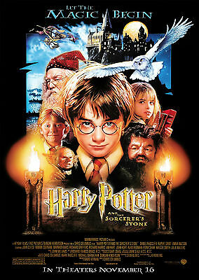 Harry Potter and the Sorcerer's Stone (2001) - A1/A2 POSTER *SEE OFFER*