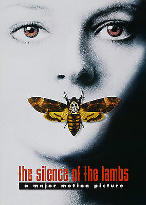 The Silence of the Lamb (1991) - A1/A2 POSTER **BUY ANY 2 AND GET 1 FREE OFFER**