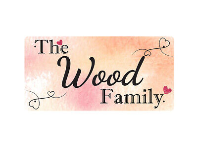WP_FAM_990 The Wood Family - Metal Wall Plate