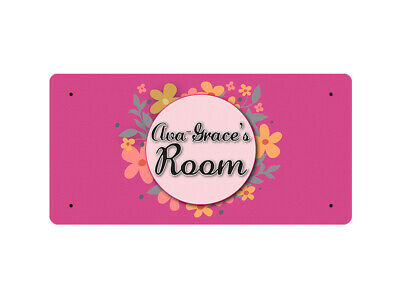 WP_ROOM_1162 Ava-Grace's Room - Metal Wall Plate