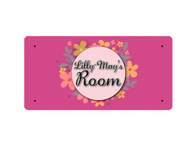WP_ROOM_1639 Lilly-May's Room - Metal Wall Plate