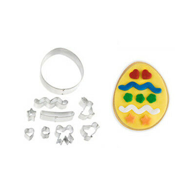 Eddingtons Easter Egg Cookie Cutter Kit 9 Piece