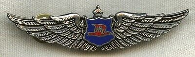 1990's Hawaiian Airlines Pilot Wing for Over 10 Years of Service 3rd Issue