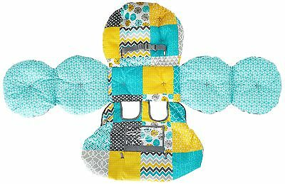 Infantino Unisex Baby Upright Travel Supportive Cart Cover, Teal, New