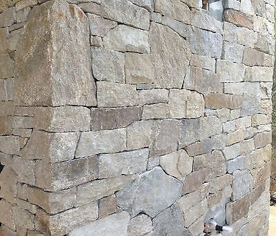 Alpine Granite Stackstone Dry Wall Cladding 'Hotham' -  Feature Walls, Fireplace