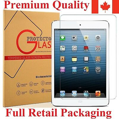 Tempered Glass Screen Protector for iPad 2 3 4 Mini 2 3 4 Air 1 2 Pro 9.7 12.9