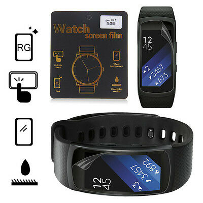 Anti-Scratch Screen Protector Film for Samsung Gear Fit2 Smart Bracelet Band FT