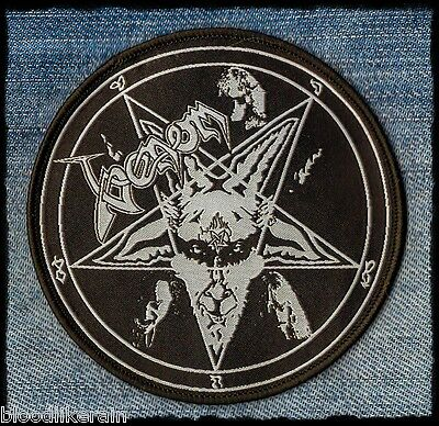 VENOM Black Hell patch aufnäher rare limited to 110 Black Metal, Welcome to Hell