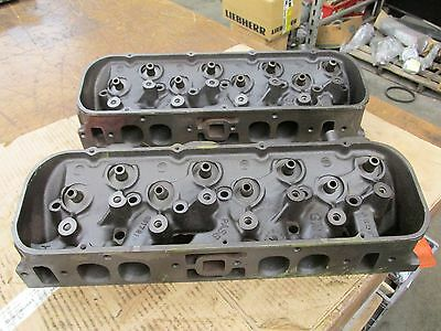 1968 Big Block Chevy 396 427 Oval Port Heads 3917215 215 A-3-8  A-5-8