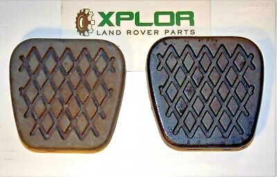 LAND ROVER FREELANDER 1 BRAKE and CLUTCH PEDAL RUBBER PADS DBP7047L Set of 2