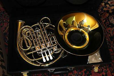 Holton H278 Professional Double French Horn MINT SCREW BELL YELLOW BRASS QuinnTh