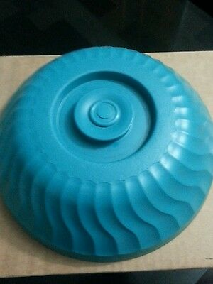 "Dinex DX340015 Turnbury teal  Green 10"" Insulated Dome - Box of 12 Free Shipping"