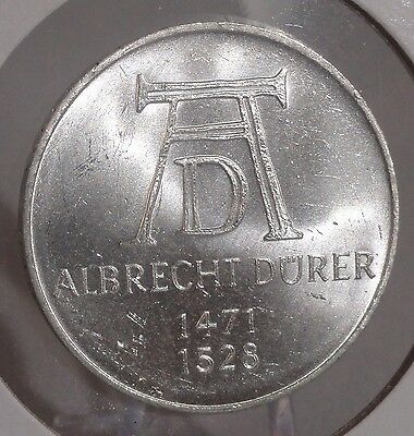 1971-D Germany Mark 5. Nice Higher Grade Collector Coin For Collection Or Set.